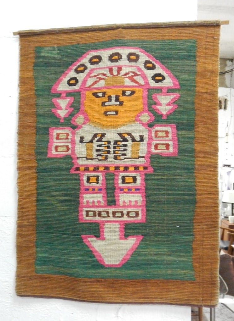 Folk Art Wall Hanging - Elitflat