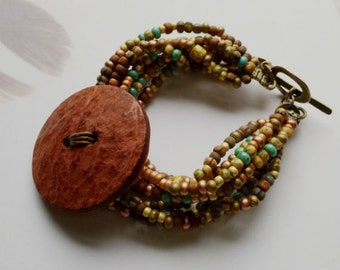BRACELET/MULTISTRAND/Multicolored