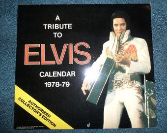 1978-1979 Elvis Tribute Calendar