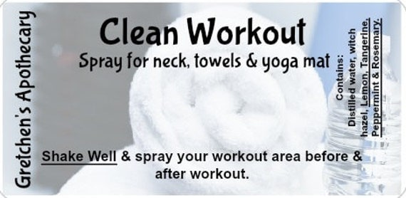 how to clean yoga towel