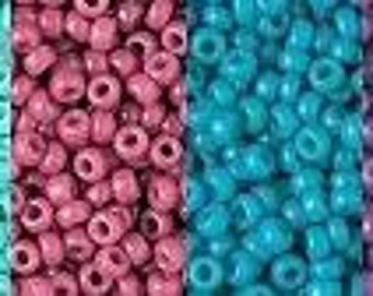 Opaque Duracoat 11/0 Seed Beads