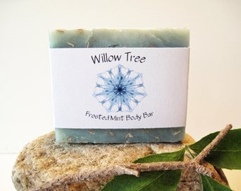 Frosted Mint- Natural Bath & Body Bar