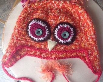 Alpaca owl hat