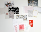 Ali Edwards Story Kit  | Journal Cards | Cheer + Old & New + Gather