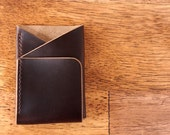 Doublecross Minimalist Wallet (Coffee Bean)