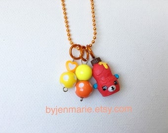 Shopkin Charm Necklace Big Topping Season 4