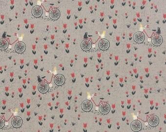 Mon Ami by BasicGrey - Bicyclette in Gris (30413-19) - Moda - 1 Yard