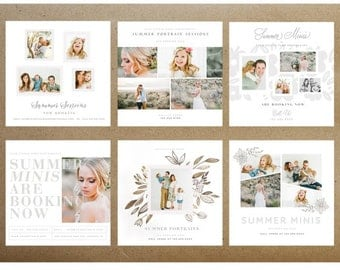 Summer is Here 5×5 Marketing Boards INSTANT DOWNLOAD