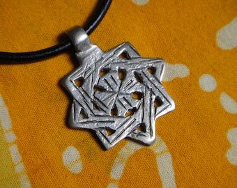 Ethiopian Star Of David Pendant