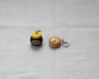 Stitchmarkers - Marmite and Crumpet - Stitch Markers