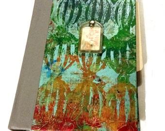 Painted Artist Smash Book Altered Art Journal