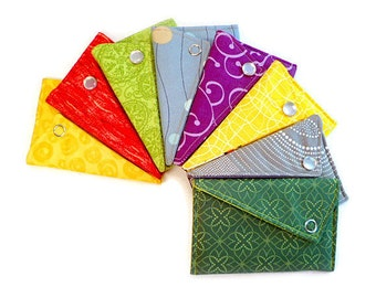 Business Card Holder Wallet - Fabric Of Your Choice