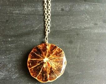 Key Lime Necklace
