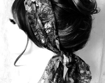 Limited Womens Boho Summer Hair Scarf