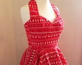 Custom Reindeer Dress