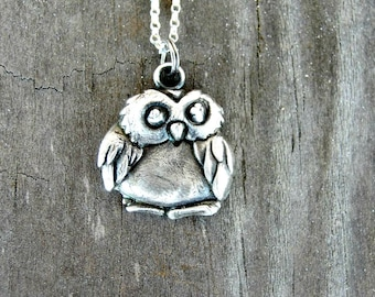 Owl Necklace - Owl Jewelry - Owl Necklace Jewelry - Owl Pendant - Graduation Gift - Owl Lover Gift - Bird Necklace