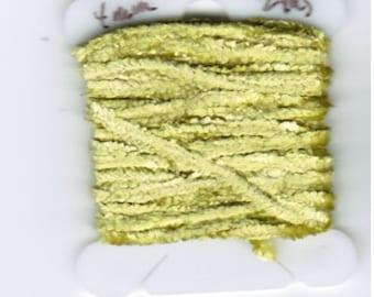 100% Silk Chenille - 4mm Moss Green