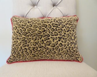 Perfect leopard animal print pillow cover