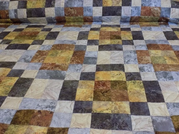 Quilt Patterns For Stonehenge Fabric : Stonehenge Queen/King Quilt Northcott fabric pieced