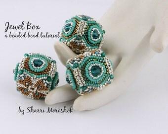 Beaded Bead Tutorial - Jewel Box Beaded Bead tutorial by Sharri Moroshok