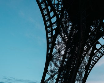 Eiffel Tower Leg Detail