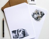 Dogs Letter Writing Set - Illustrated Writing Paper