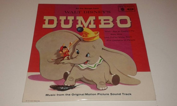 Very Rare 1959 Walt Disney S Dumbo All The Songs