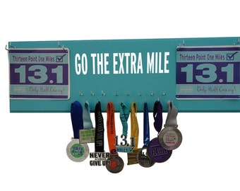 Accumulate running medal? Display them in style. Go the extra mile