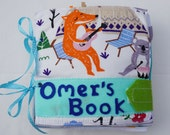 Personalized Quiet Book Cover