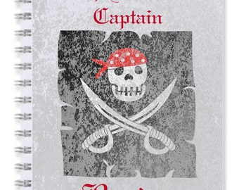 Notebook Pirate Map