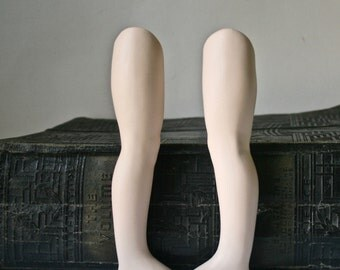 Long Straight Porcelain Doll Legs for Doll Making and Repair