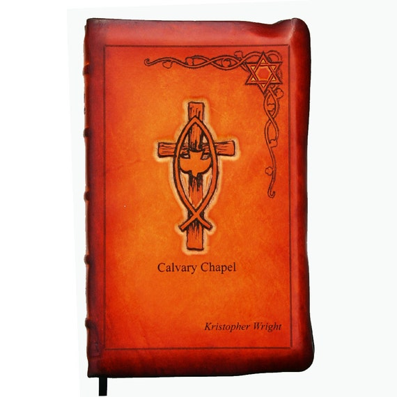 Custom Leather Full Yap Bible