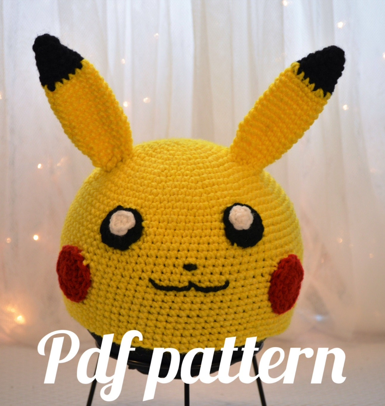 Pikachu Hat From 3tiers4cake On Etsy Studio