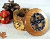 Ring Box Engagement, Ring Box Wedding, Wood Ring Box, Ring Bearer Box, Spalted Ring Box, Ring Bearer Pillow, Weddings