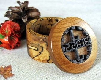 Ring Box Engagement, Ring Box Wedding, Wood Ring Box, Ring Bearer Box, Spalted Ring Box, Ring Bearer Pillow, Weddings