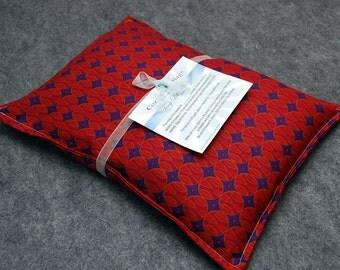 Heating Pad Corn Bag Microwavable - Apple Pie, Large Pillow 10 x 14