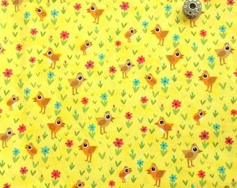 Chicks And Daisies in Sunshine - Moda