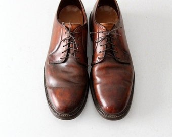 SALE vintage Lloyd & Haig oxfords, men's leather shoes