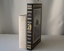 Vintage The 39 Steps Franklin Library Mystery Masterpieces John Buchan Hardcover Book 1988
