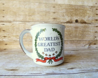 Vintage Worlds Greatest Dad Mug