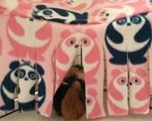 Guinea pig hideout, guinea pig tent, corner hideout, corner curtain, pet hideout, fleece forest, hiding spot, fleece cage accessory