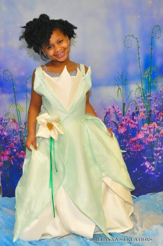 Princess tiana ballgown wedding dress for Princess tiana wedding dress