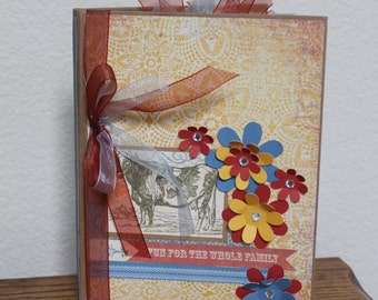 Scrapbooking Family Recipes and Photos