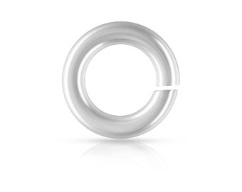 Sterling Silver 18ga 5mm Open Jump Rings  - 100pcs 25% discounted Made in USA (4520)/5