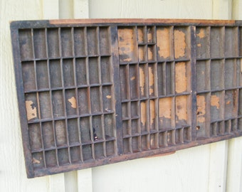 Vintage Letterpress Drawer - Letterpress Tray