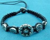 Rosone bracelet in black