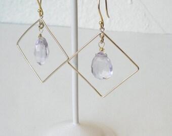 Caryst chandelier earring