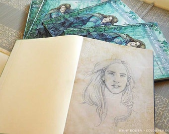 Songs of Sorrow and Hope - Artbook with sketch