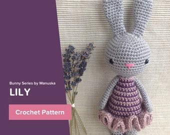 Crochet lily pattern Etsy