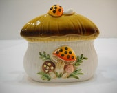 Vintage 1978 Mushroom Napkin Holder By Sears Roebuck And Co. 38 Years Old
